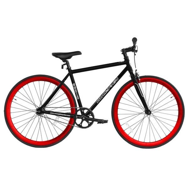 Micargi RD-818-57 Red and Black Aluminum Road Bike