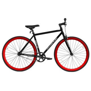 Micargi RD-818-57 Red and Black Aluminum Road Bike