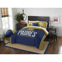 The Northwest Company MLB San Diego Padres Grandslam Full/Queen 3-piece Comforter Set