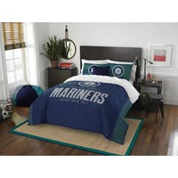 The Northwest Company Mariners Blue Polyester Full/Queen 3-piece Comforter Set