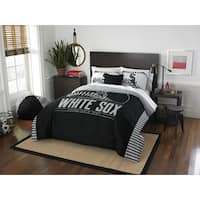 The Northwest Company MLB Chicago White Sox Grandslam Full/Queen 3-piece Comforter Set