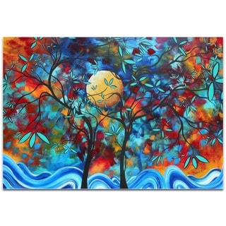 Megan Duncanson 'Lovers Moon' Landscape Painting on Metal or Acrylic