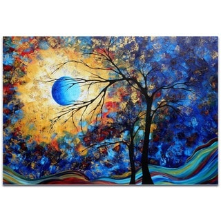 Megan Duncanson 'Eye of the Universe' Landscape Painting on Metal or Acrylic