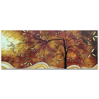 Megan Duncanson 'The Wishing Tree' Landscape Painting on Metal or Acrylic