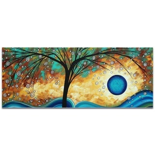 Megan Duncanson 'Summer Blooms' Landscape Painting on Metal or Acrylic