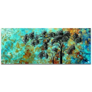 Megan Duncanson 'Spring Blooms' Landscape Painting on Metal or Acrylic