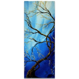Megan Duncanson 'Infinite Heights' Landscape Painting on Metal or Acrylic