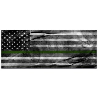 Eric Waddington 'American Glory Military Tribute' Armed Forces Flag on Metal or Acrylic