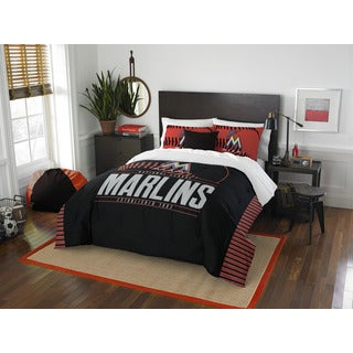 MLB Miami Marlins Grandslam Full/Queen 3-piece Comforter Set