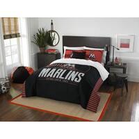 The Northwest Company MLB Miami Marlins Grandslam Full/Queen 3-piece Comforter Set