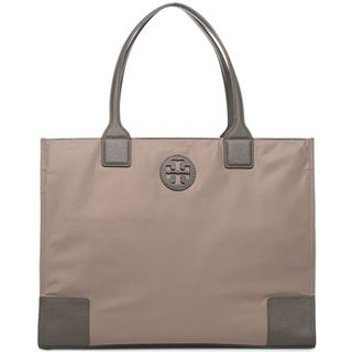 Tory Burch Ella French Grey Foldable Tote Bag