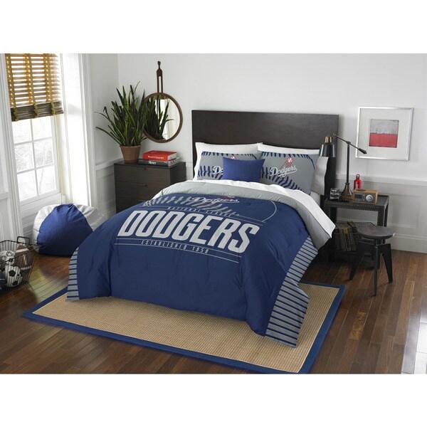The Northwest Company MLB Los Angeles Dodgers Grandslam Full/Queen 3-piece Comforter Set