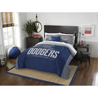The Northwest Company MLB Los Angeles Dodgers Grandslam Full/Queen 3-piece Comforter Set