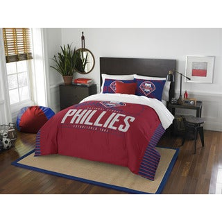 The Northwest Company MLB Philadelphia Phillies Grandslam Full/Queen 3-piece Comforter Set