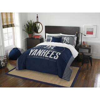 The Northwest Company MLB New York Yankees Grandslam Full/Queen 3-piece Comforter Set|https://ak1.ostkcdn.com/images/products/13283682/P19994059.jpg?impolicy=medium