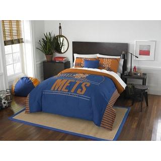 MLB New York Mets Grandslam Full/Queen 3-piece Comforter Set