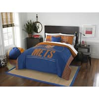 The Northwest Company MLB New York Mets Grandslam Full/Queen 3-piece Comforter Set