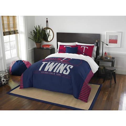 The Northwest Company MLB Minnesota Twins Grandslam Full/Queen 3-piece Comforter Set