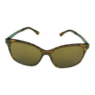 Serengeti Sara Women's Shiny Dark Tortoise Frame Polarized PHD Lens Sunglasses