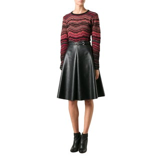 Missoni Women's Red Striped Sweater