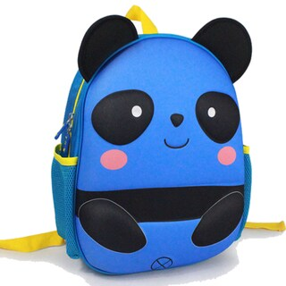 Toddler Blue EVA Panda Cartoon Backpack