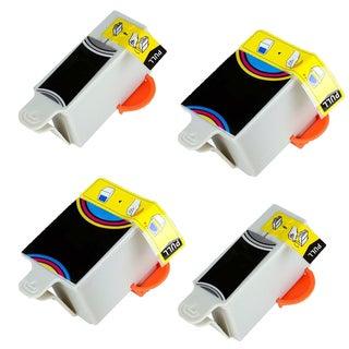 4PK Compatible 2X KD30C + KD30BK Inkjet Cartridge For Kodak ESPESP C110 C310 C315 ( Pack of 4 )