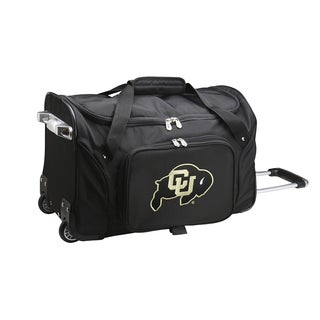 Denco Sports Colorado 22-inch Carry On Rolling Duffel Bag