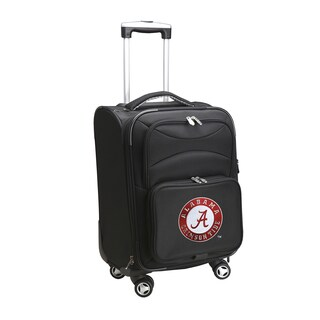 Denco Alabama 20-inch Carry-on 8-wheel Spinner Suitcase