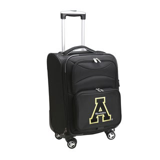 Denco Appalachian State 20-inch 8-wheel Carry-on Spinner Suitcase