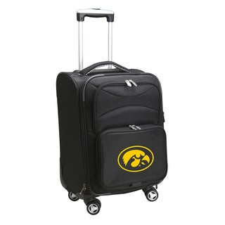 Denco Sports Iowa 20-inch Carry On 8-wheel Spinner Suitcase