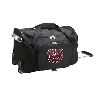 Denco Sports Missouri State 22-inch Carry On Rolling Duffel Bag