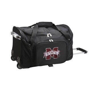 Denco Sports Mississippi State 22-inch Carry On Rolling Duffel Bag