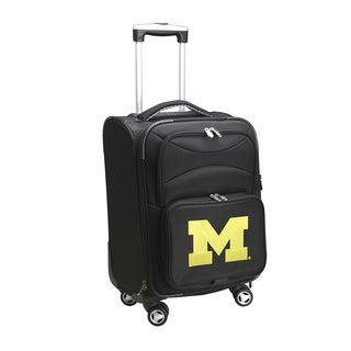 Denco Michigan 20-inch Carry-on 8-wheel Spinner Suitcase