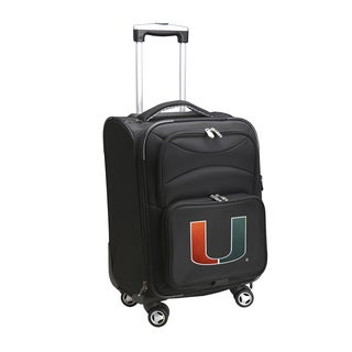 Denco Miami 20-inch Carry-on 8-wheel Spinner Suitcase