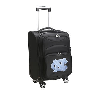 Denco Sports North Carolina 20-inch Carry-on 8-wheel Spinner Suitcase