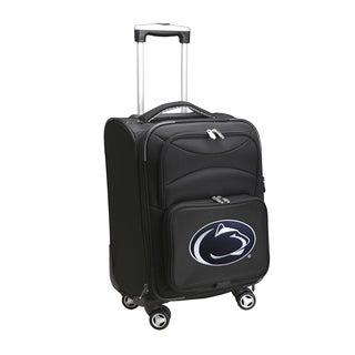 Denco Penn State 20-inch 8-wheel Carry-on Spinner Suitcase