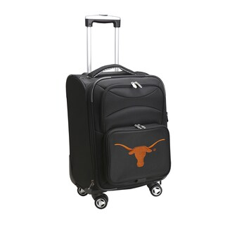 Denco Texas 20-inch Carry-on 8-wheel Spinner Suitcase