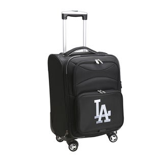 Denco Sports Los Angeles Dodgers 20-inch Carry-on 8-wheel Spinner Suitcase