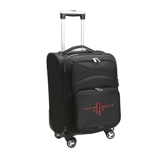 Denco Sports Houston Rockets Black 20-inch Carry-on Spinner Suitcase