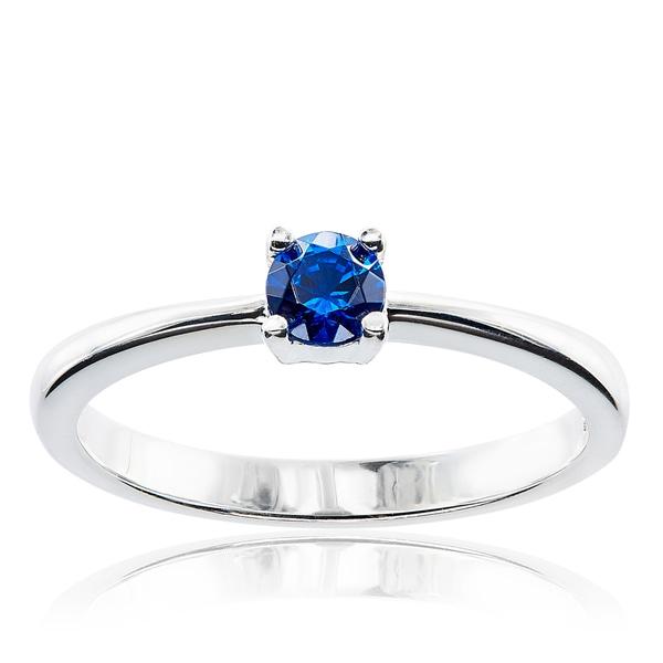c7dc67649 Shop Sterling Silver Round Swarovski Austrian Crystal Birthstone ...