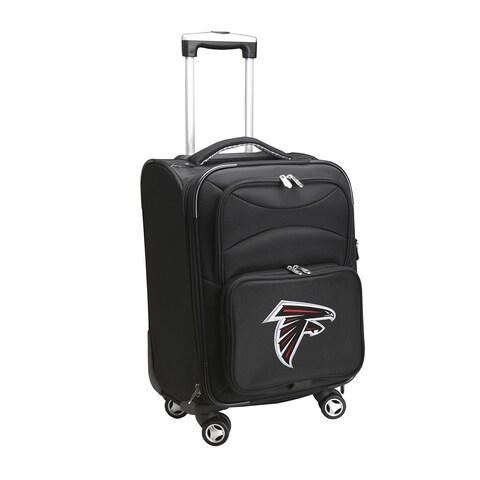 Denco Atlanta Falcons 20-inch 8-wheel Carry-on Spinner Suitcase