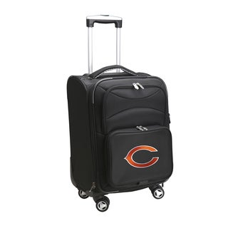 Denco Chicago Bears 20-inch Carry On 8-wheel Spinner Suitcase
