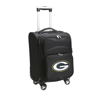 Denco Sports Green Bay Packers 20-inch Carry-on 8-wheel Spinner Suitcase