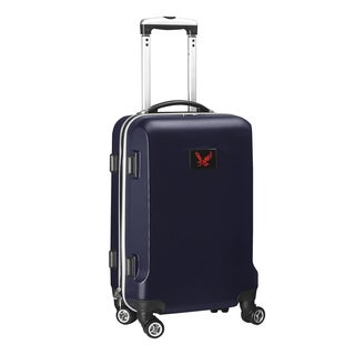 Denco Sports 'Eastern Washington' Black and Navy ABS 20-inch Carry-on Hardside Spinner Suitcase