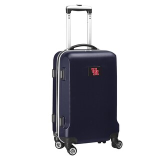 Denco Sports Houston Black/Navy ABS and Plastic 20-inch Carry-on Hardside 8-wheel Spinner Suitcase