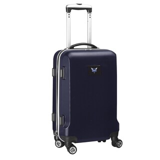 Denco Sports Charlotte Hornets ABS 20-inch Carry-on Hardside 8-wheel Spinner Suitcase