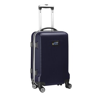 Denco Sports Utah Jazz 20-inch Carry-on Hardside 8-wheel Spinner Suitcase