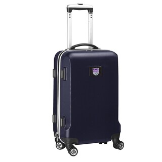 Denco Sports Sacramento Kings 20-inch Carry-on Hardside 8-wheel Spinner Suitcase
