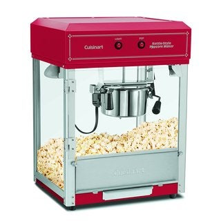 Cuisinart CPM-2500 Kettle Style Popcorn Maker, Red