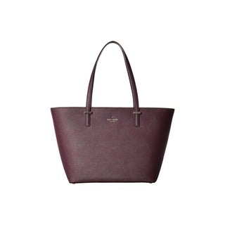 Kate Spade New York Cedar Street Harmony Mahogany Leather Small Tote Bag
